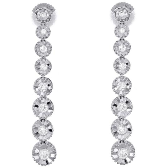 Preload https://img-static.tradesy.com/item/26606543/jewelry-for-less-white-gold-14k-graduating-diamond-studs-miracle-illusion-12ct-earrings-0-0-540-540.jpg