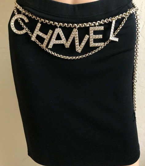 Chanel NWT CHANEL 19P MOST WANTED CC LOGO CHAIN BELT [SOLD OUT!!] Image 2