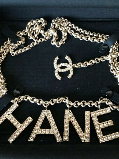 Chanel NWT CHANEL 19P MOST WANTED CC LOGO CHAIN BELT [SOLD OUT!!] Image 3