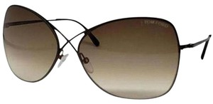 Tom Ford Gradient Lens TF0250/S 48F Women Butterfly Sunglasses