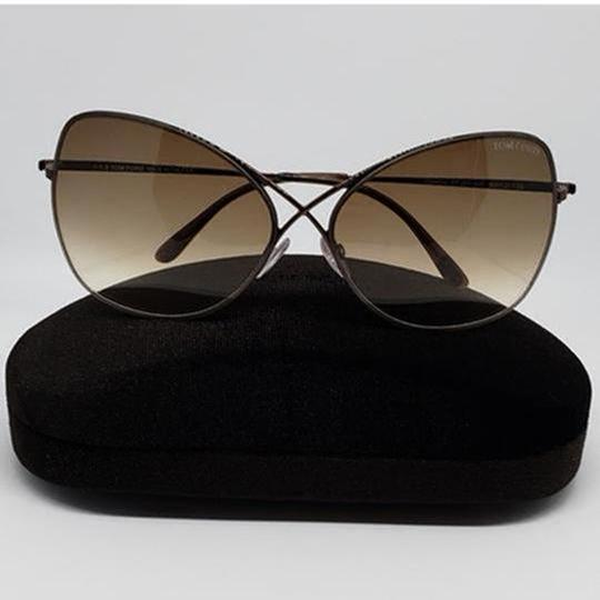 Tom Ford Gradient Lens TF0250/S 48F Women Butterfly Sunglasses Image 2