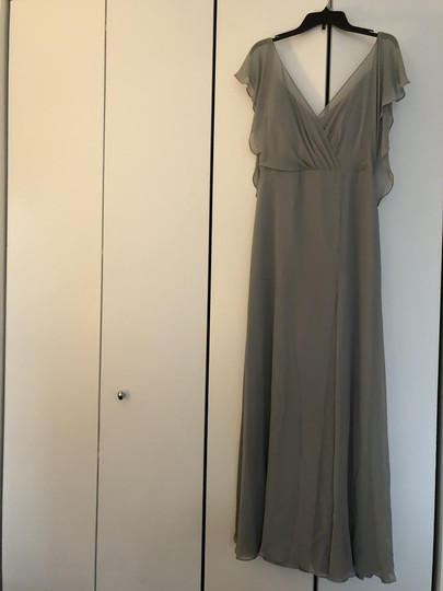 Jenny Yoo Mineral Luxe Chiffon Alanna+ Formal Bridesmaid/Mob Dress Size 6 (S) Image 2