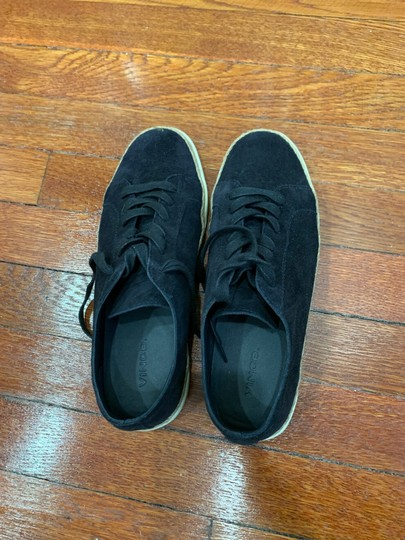 Vince Sneakers Suede Navy Blue Athletic Image 1