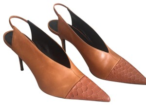 Narciso Rodriguez cognac Pumps