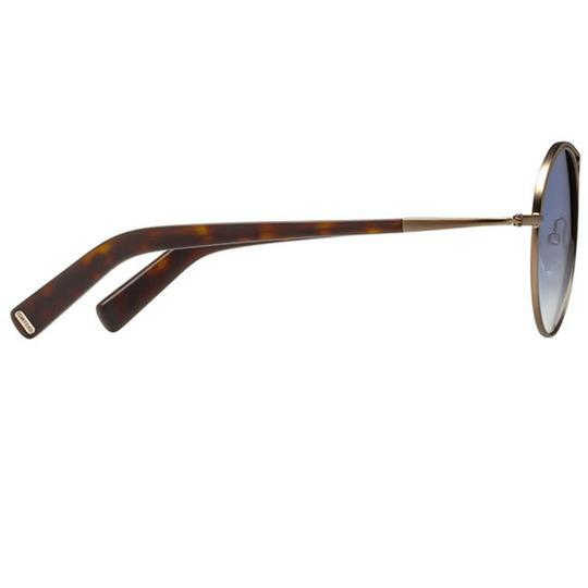 Tom Ford Blue Gradient Lens TF449 37W Unisex Round Style Sunglasses Image 2
