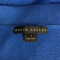 ralph lauren Knit V Neck Silk Sleeveless Top blue Image 5