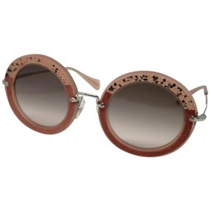 Miu Miu Lens OMU 08RS Women Round Sunglasses