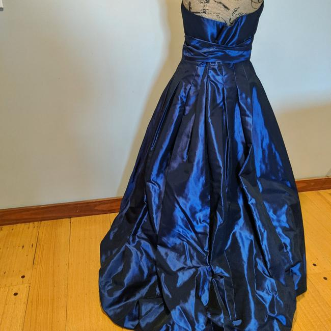 Alfred Angelo Ball Gown High Low Strapless Taffeta Dress Image 1