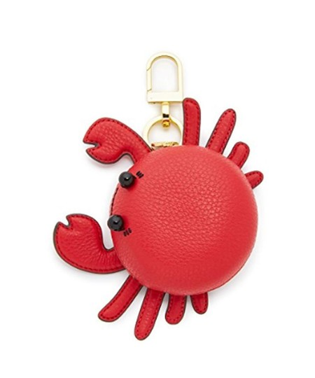 Tory Burch Crab Bag Charm Coin Wallet Case Image 1