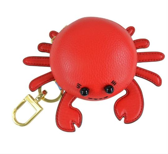 Tory Burch Crab Bag Charm Coin Wallet Case Image 2