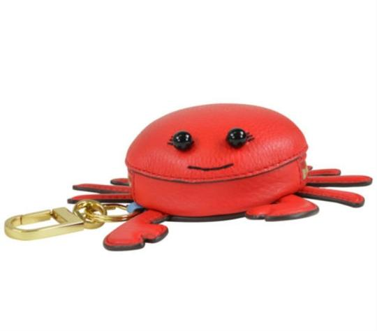 Tory Burch Crab Bag Charm Coin Wallet Case Image 3