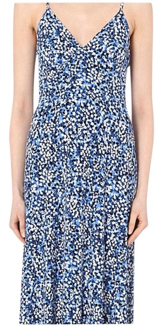 Blue, White Maxi Dress by Michael Kors Image 0