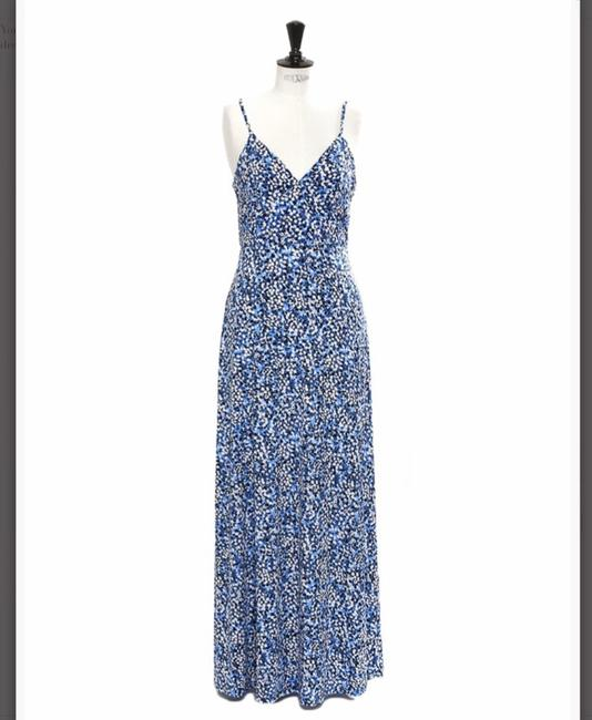 Blue, White Maxi Dress by Michael Kors Image 1