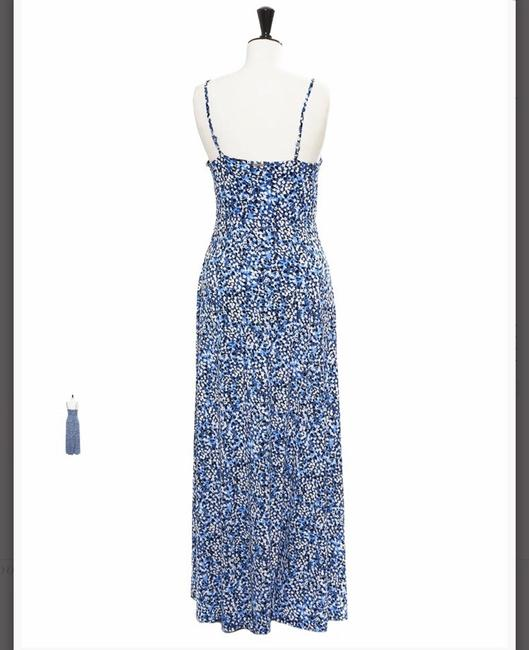 Blue, White Maxi Dress by Michael Kors Image 2