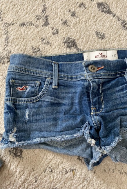 Hollister Mini/Short Shorts light denim Image 4