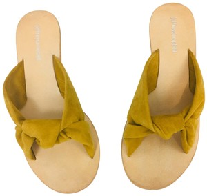 Jeffrey Campbell mustard Sandals