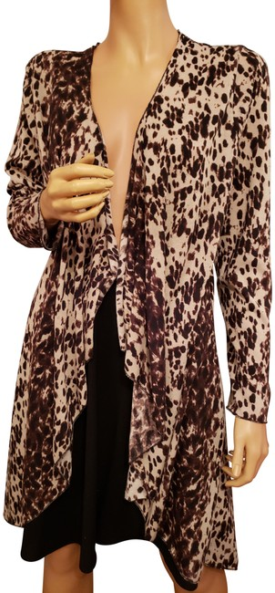 INVESTMENT Leopard Print Cardigan Image 0
