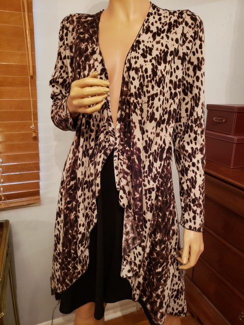 INVESTMENT Leopard Print Cardigan Image 2