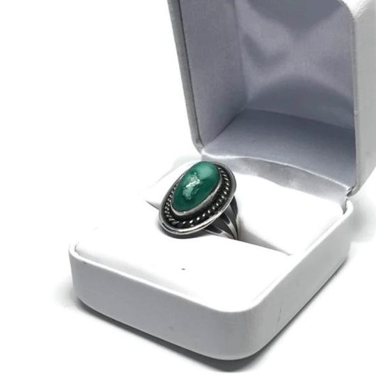 Other Vintage Native American Navajo Sterling Silver Turquoise Ring Image 8