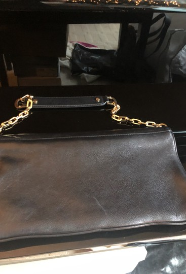 Tory Burch Black and gold Clutch Image 2