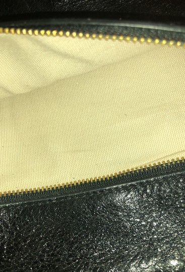 Tory Burch Black and gold Clutch Image 6