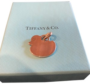 Tiffany & Co. NEW RETIRED RARE flat duck charm