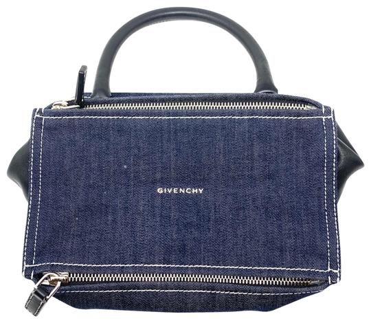 Preload https://img-static.tradesy.com/item/26606909/givenchy-small-pandora-satchel-dark-blue-denim-and-black-leather-cross-body-bag-0-1-540-540.jpg