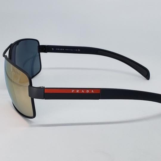 Prada Green Mirrored Lens Unisex Sports Sunglasses Image 3