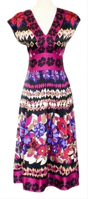 Preload https://img-static.tradesy.com/item/26606997/mixit-pink-kimono-colorful-floral-style-mid-length-workoffice-dress-size-4-s-0-1-650-650.jpg