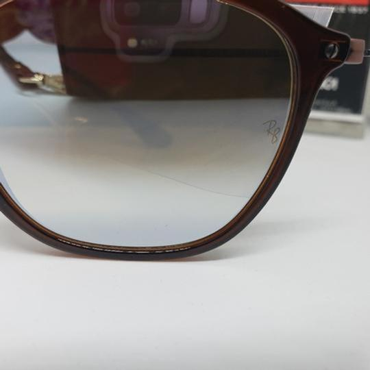 Ray Ban Mirrored Lens Women Square Sunglasses Image 3