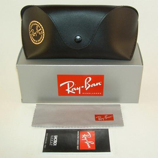 Ray Ban Mirrored Lens Women Square Sunglasses Image 7