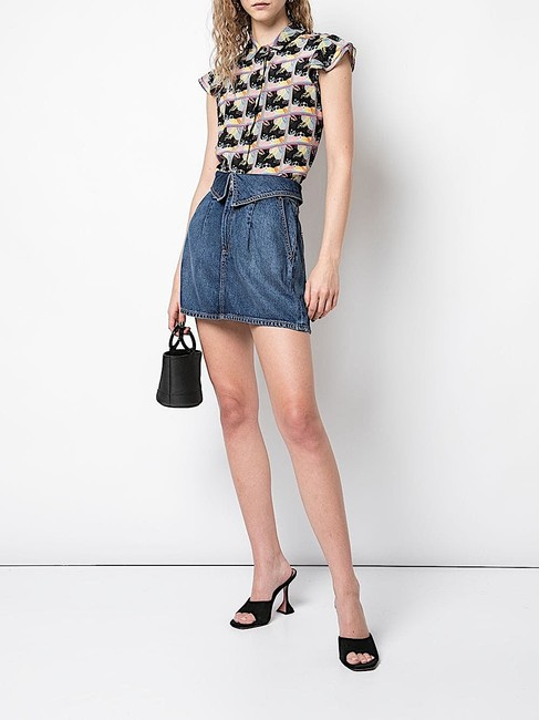 Alice + Olivia Button Down Shirt multi with tag Image 2