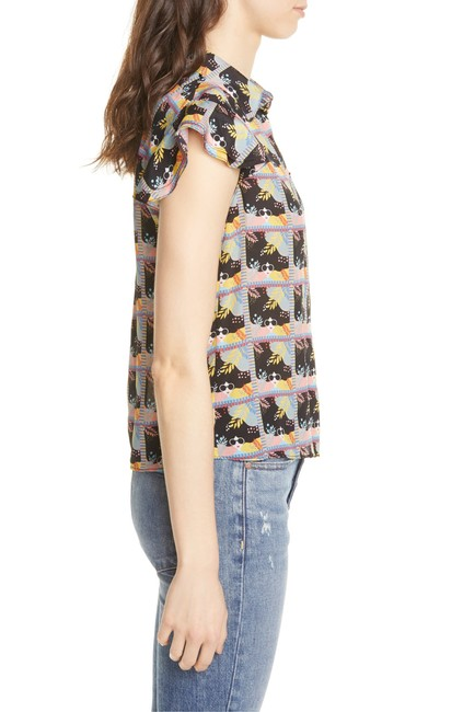 Alice + Olivia Button Down Shirt multi with tag Image 5