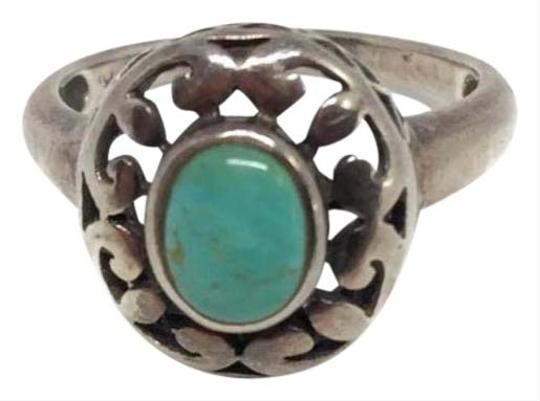 Preload https://img-static.tradesy.com/item/26607036/sterling-silver-vintage-openwork-turquoise-ring-0-1-540-540.jpg
