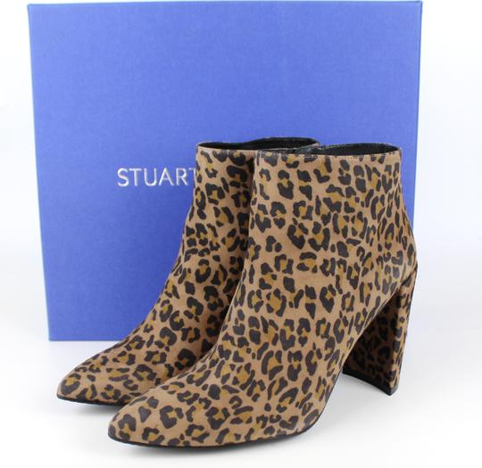 Stuart Weitzman Hollywood Date Night Night Out Party Camchs Leopard Boots Image 1