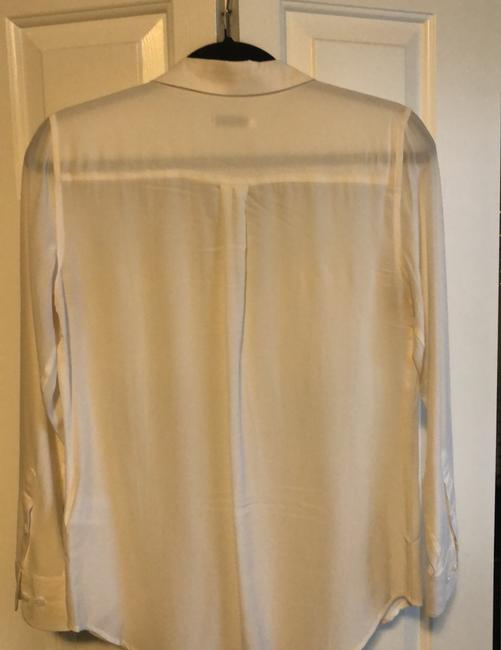 Equipment Button Down Shirt Ivory Image 3