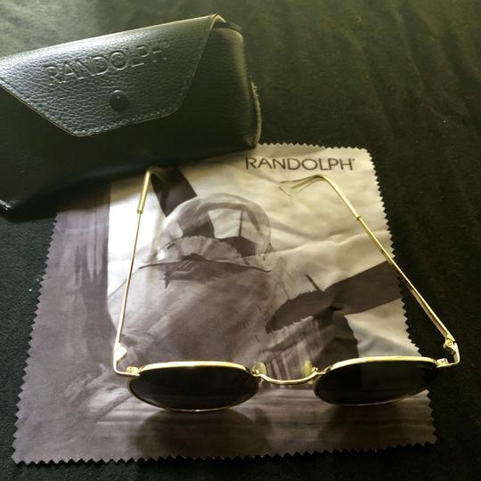 P3 Randolph P3 Gold Polarized Sunglasses Image 1