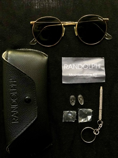 P3 Randolph P3 Gold Polarized Sunglasses Image 2