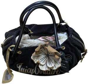 JUICY COUTURE BLACK DAYDREAM BAG Tote in BLACK