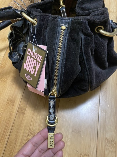 JUICY COUTURE BLACK DAYDREAM BAG Tote in BLACK Image 4