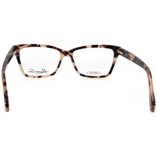 Kenneth Cole KC0207-053-53 Eyeglasses Size 53mm 14mm 135mm Havana Image 4