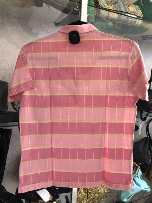 Burberry Cotton Plaid Italy Check Cotton Sweater Image 4