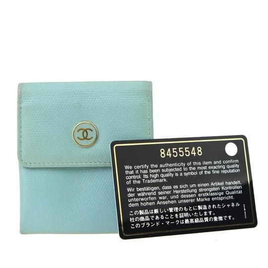 Preload https://img-static.tradesy.com/item/26607234/chanel-blue-cc-logo-coin-case-leather-parse-green-wallet-0-0-540-540.jpg
