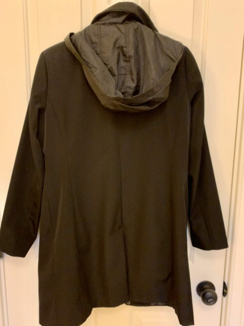 Calvin Klein Structured Hooded Raincoat Image 1
