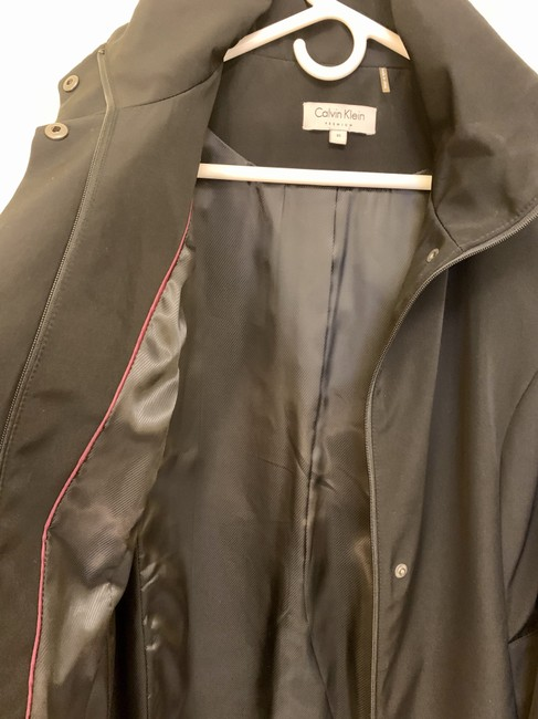 Calvin Klein Structured Hooded Raincoat Image 5