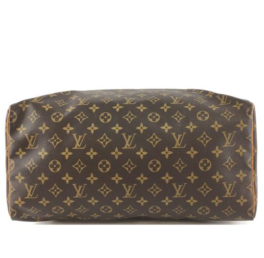 Louis Vuitton Lv Speedy 40 Monogram Satchel in Brown Image 4