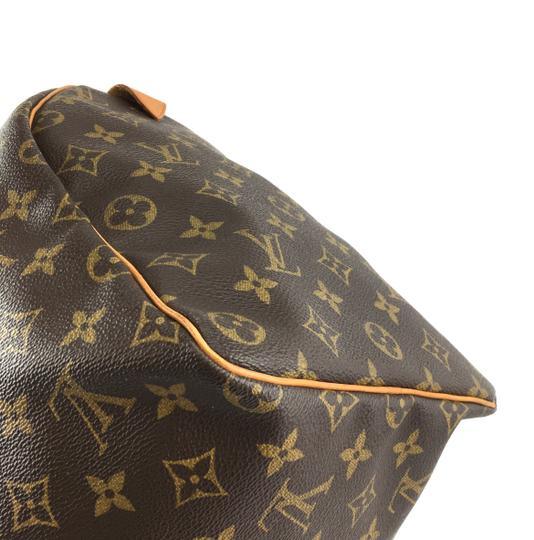 Louis Vuitton Lv Speedy 40 Monogram Satchel in Brown Image 9