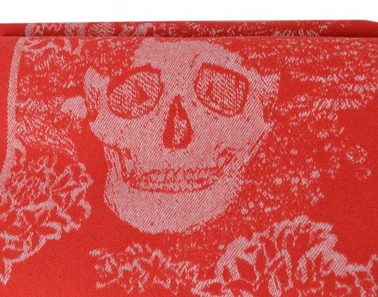 Alexander McQueen New Alexander McQueen Large Wool Cashmere Dreaming Skull Scarf Wrap Image 5