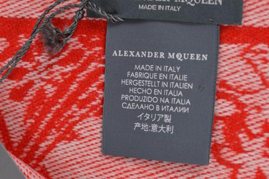 Alexander McQueen New Alexander McQueen Large Wool Cashmere Dreaming Skull Scarf Wrap Image 8