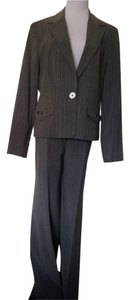 Signature by Larry Levine Gray W/ Baby Blue Pinstripe Suit